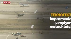 Αγώνας ταχύτητας με μοτοσυκλέτα, Formula 1 και ένα F-16 στην Κωνσταντινούπολη!