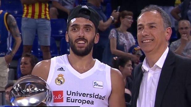 Ρεάλ Μαδρίτης: Ο MVP Καμπάσο και οι πανηγυρισμοί της