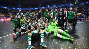 Σήκωσε το πρώτο της Champions League στο futsal η Σπόρτινγκ!