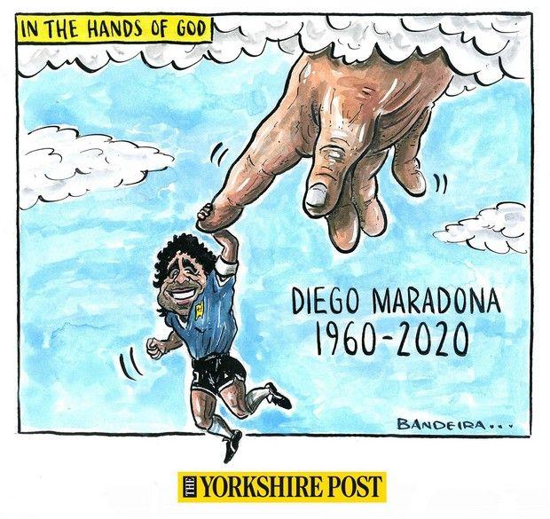 Σκίτσο του Ντιέγκο Μαραντόνα