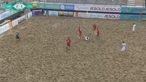 Τα εκπληκτικά γκολ της Εθνικής Beach Soccer