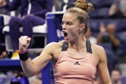 Η Μαρία Σάκκαρη προκρίθηκε στα ημιτελικά του Ostrava Open