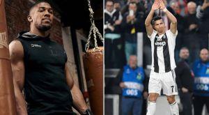 Ένωσαν τις γροθιές τους Joshua και Cristiano Ronaldo