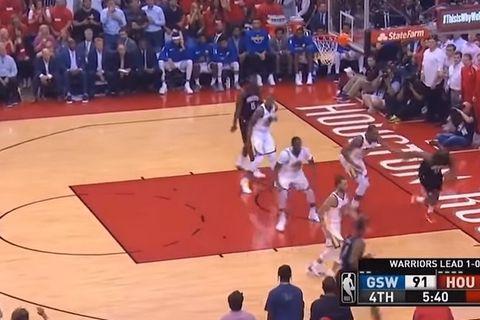 Πολλά νεύρα οι Warriors κόντρα στους Rockets