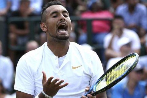"""Εκτός US Open ο Κύργιος με """"καρφιά"""" για συναδέλφους"""