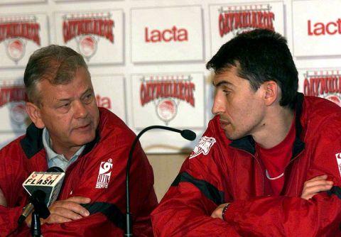 Ίβκοβιτς και Παναγιώτης Φασούλας είχαν θυελλώδη σχέση σε ΠΑΟΚ και Ολυμπιακό