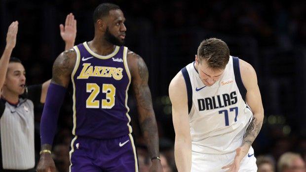 NBA: Ντόντσιτς και Λεμπρόν