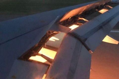 VIDEO: Το αεροπλάνο της Σαουδικής Αραβίας πήρε φωτιά εν ώρα πτήσης