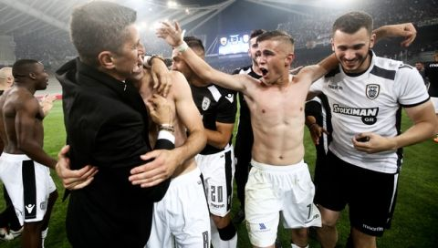 12/05/2018 AEK Vs PAOK for Greek Cup final game season 2017-18 in OAKA Stadium in Athens - Greece  Photo by: Georgia Panagopoulou / Tourette Photography