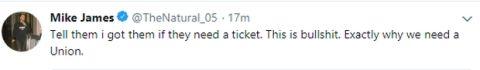 """Μάικ Τζέιμς για τους Αμερικανούς του Κόροιβου: """"Πληρώνω εγώ τα εισιτήρια"""""""
