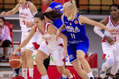 Βίσλα Κρακοβίας - Ολυμπιακός 46-47: Η Παυλοπούλου έστειλε τον Ολυμπιακό στους ομίλους της EuroLeague