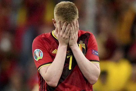 """Ο Κέβιν Ντε Μπρόινε ανήκε σε μία από τις """"αδικημένες"""" ομάδες του Euro"""