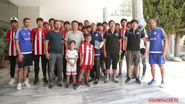 Σε Ακρόπολη και Αρχαία Ολυμπία η αποστολή της Beijing Enterprise FC U-17