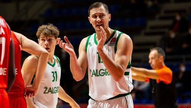 Η κατάταξη της EuroLeague: Στην κορυφή η απίθανη Ζάλγκιρις
