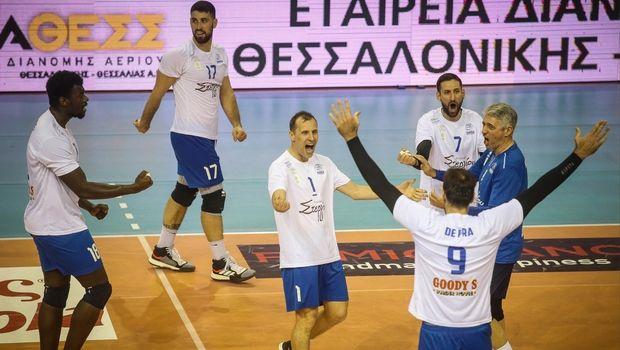 Volleyleague ανδρών: Πέρασε η Κηφισιά από την Αλεξανδρούπολη