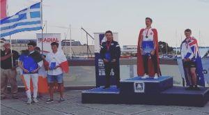 """""""Ασημένιος"""" ο Μόνος στο Παγκόσμιο πρωτάθλημα Λέιζερ Ράντιαλ"""
