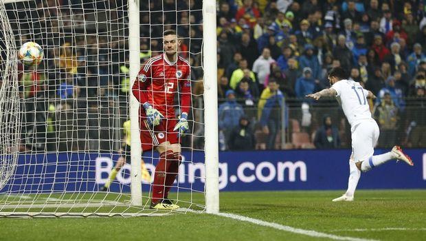 Βοσνία - Ελλάδα 2-2: Η ισοφάριση με τη γκολάρα του Κολοβού