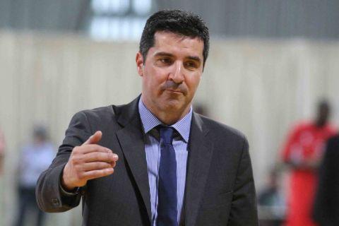 Ο Δημήτρης Πρίφτης από παιχνίδι του Άρη για τη Basket League