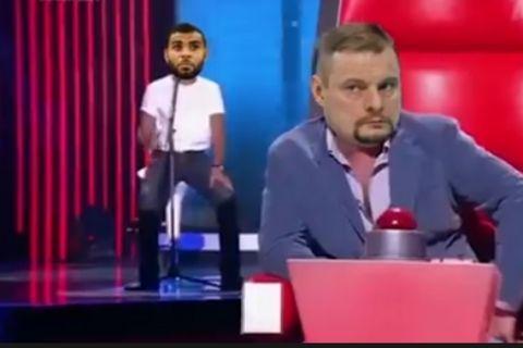 """Παρουσίαση α λα """"The Voice"""" για τον Νγκαμπέτ!"""