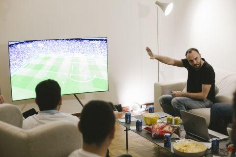 Δες τον τελικό του Champions League στο σπίτι της 24MEDIA