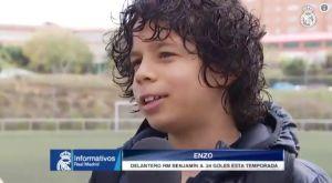 Ρεάλ Μαδρίτης: Ο γιος του Μαρσέλο είναι μεγάλος γκολτζής