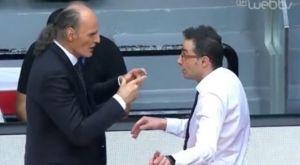 Μπεσίκτας – ΠΑΟΚ: Επεισόδιο Ιβάνοβιτς – Χαραλαμπίδη για ένα timeout