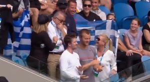 Australian Open: Βούρκωσε ο πατέρας της Σάκκαρη