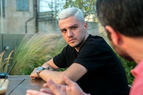 Ο Αλέξανδρος Κατράνης στη φωτογράφιση για τη συνέντευξη στο SPORT24