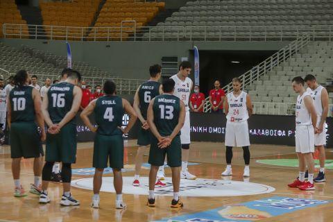Σερβία και Μεξικό πριν από το τζάμπολ της μεταξύ τους αναμέτρησης στο ΟΑΚΑ