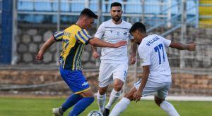 Λαμία – Παναιτωλικός: Το 1-0 με Βιγιάλμπα από ασίστ Αραβίδη