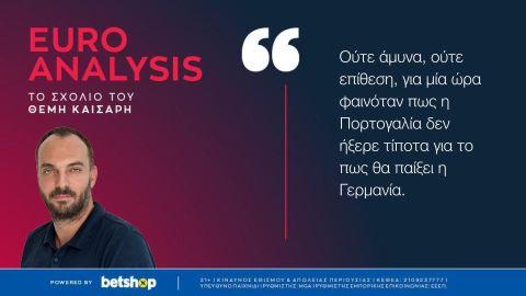 Euro 2020: Ο Γκόζενς εξέθεσε τον Σάντος