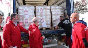 Ολυμπιακός: 75 τόνοι εφοδίων στους συνοριοφύλακες