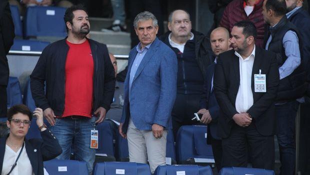 ΠΑΟΚ - ΑΕΚ: Στο ΟΑΚΑ οι Αναστασιάδης, Μπασινάς, Γιαννακόπουλος