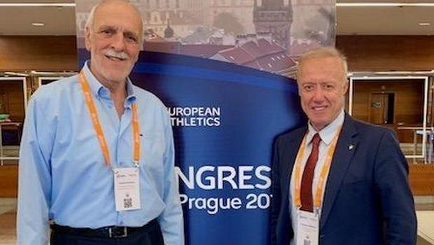 Πανηγυρική επανεκλογή Δημάκου στην Ευρωπαϊκή ομοσπονδία στίβου