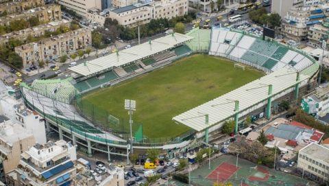 Το γήπεδο της Λεωφόρου από ψηλά