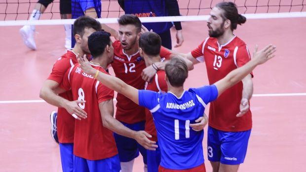 VolleyLeague ανδρών: O Μαρίν Λέσκοφ MVP της 5ης αγωνιστικής