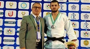 Τζούντο: Χρυσό μετάλλιο ο Αζωίδης στο Όπεν του Καζακστάν