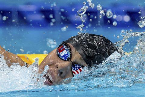 Η Αναστασία Παγώνη στη διάρκεια των Παραολυμπιακών Αγώνων
