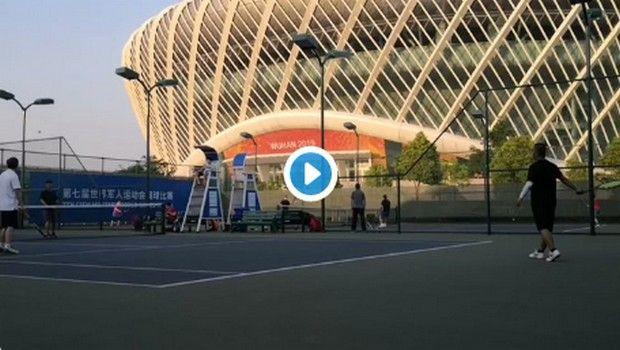 Τένις: Ο αθλητισμός επέστρεψε στη Γουχάν