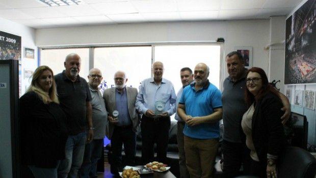 Επίσκεψη Βασιλακόπουλου–Τσαγκρώνη στην ΕΣΚΑ