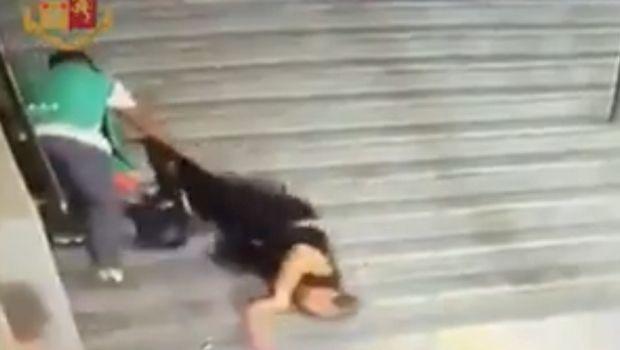 Οπαδός της Ρόμα έριξε γυναίκα στις σκάλες του Ολίμπικο και συνελήφθη (VIDEO)