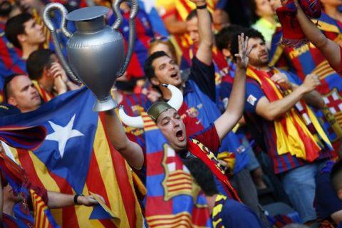 UEFA κατά Μπαρτσελόνα για τις καταλανικές σημαίες!