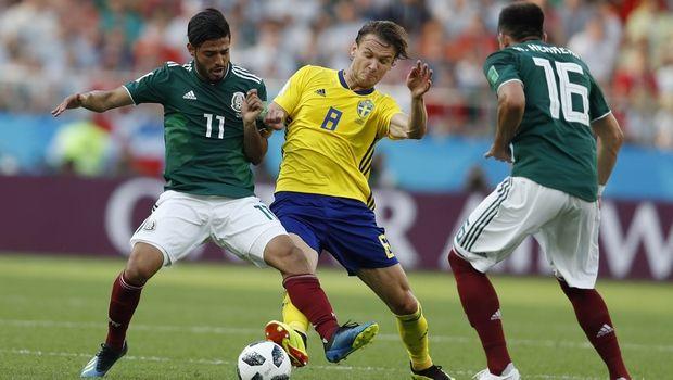 Θρίαμβος και 3-0 για τη Σουηδία, πέρασε και το Μεξικό! (photos + videos)