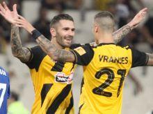 ΑΕΚ - Λαμία 2-0: Σβηστά με σούπερ Λιβάγια το δύο στα δύο