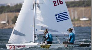 Πρώτα θέση για Μπόζη – Κλωναρίδου στο εθνικό πρωτάθλημα 470 της Ιταλίας