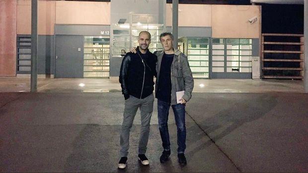 O Γκουαρδιόλα στη φυλακή για επίσκεψη στους κρατούμενους Καταλανούς πολιτικούς