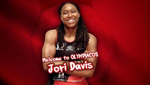 Ολυμπιακός: Τζόρι Ντέιβις, η τρίτη ξένη των ερυθρολεύκων