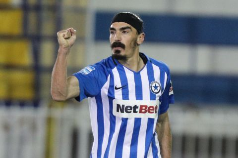 Ο Λάζαρος Χριστοδουλόπουλος από το ματς με τη Λαμία |14 Ιανουαρίου 2021