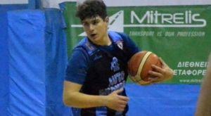 Σκοτώθηκε σε τροχαίο στην Πάτρα ο μπασκετμπολίστας Νίκος Μοίραλης