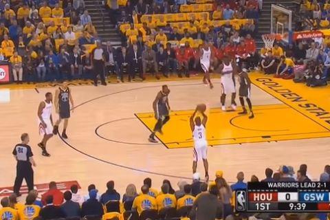 Το χειρότερο flopping της χρονιάς από τον Curry!